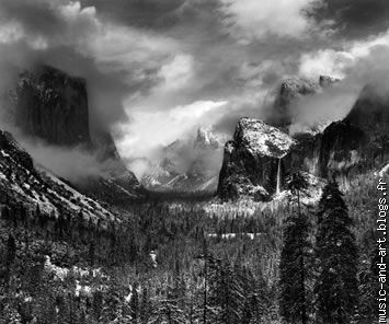 """Clearing Winter Storm"",Yosemite National Park ,California (1944)"