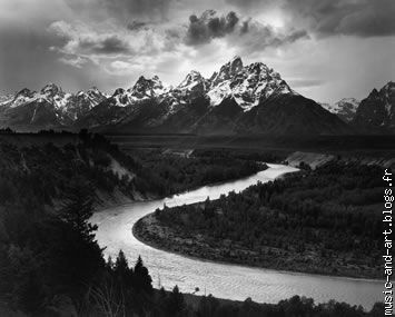 """Tetons And The Snake River"",Grand Teton National Park (1942)"