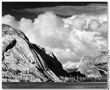 Tenaya Lake,Yosemite National Park,California (1948)